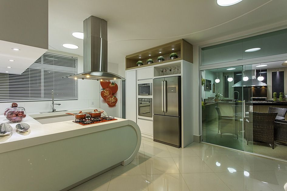 Arquiteto Aquiles Nicolas Kilaris-Casa Malibu Cozinha