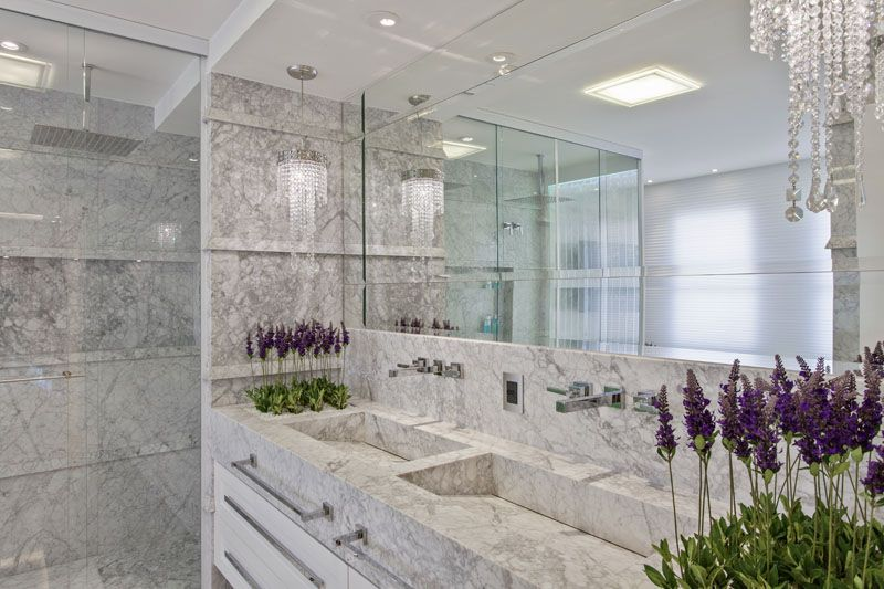 Arquiteto Aquiles Nicolas Kilaris- Apartamento Palazzo - banho master
