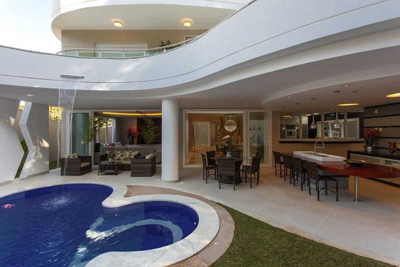 Arquiteto Aquiles Nicolas Kilaris-Casa Beverly Hills _espaço gourmet