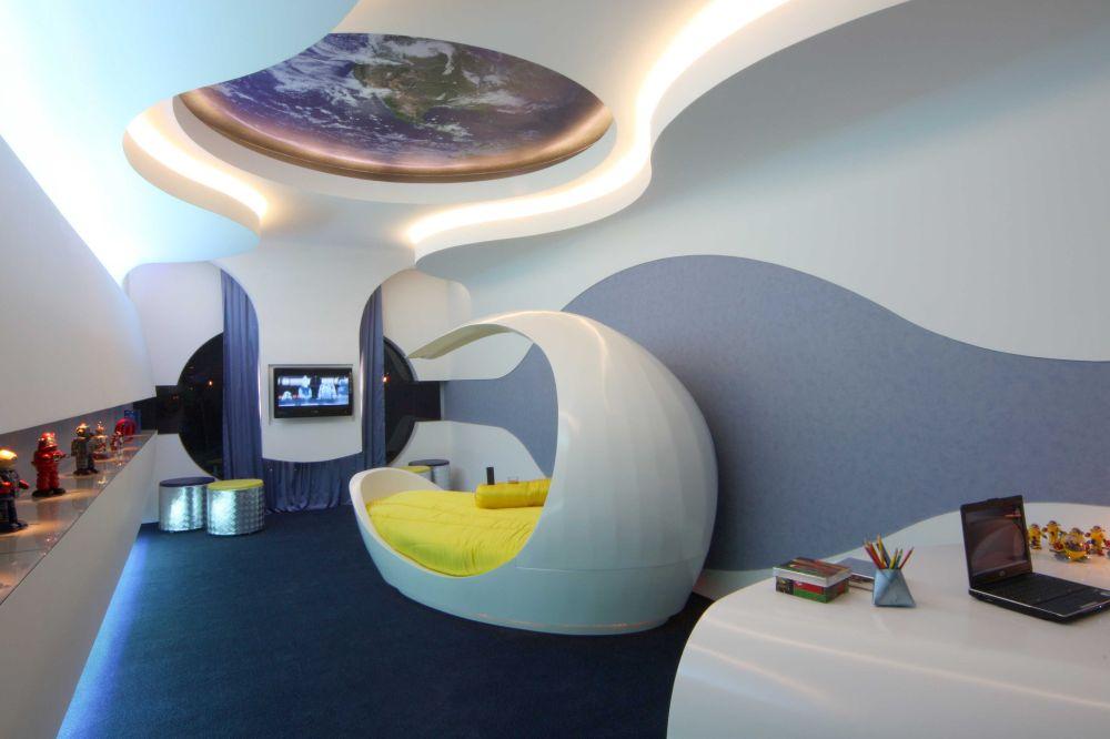 Arquiteto Aquiles Nicolas Kilaris- Casa Cor - Suite do menino futurista