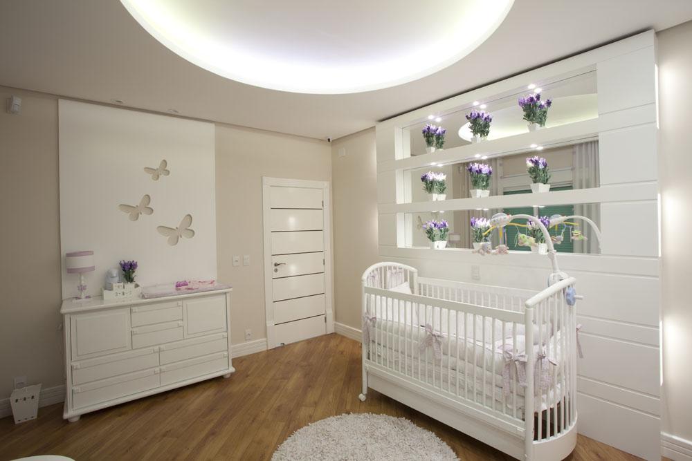 Arquiteto Aquiles Nicolas Kilaris- Casa Curvas no Neoclássico - quarto bebe