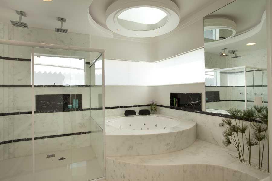 Arquiteto Aquiles Nicolas Kilaris- Casa das Águas - banho máster
