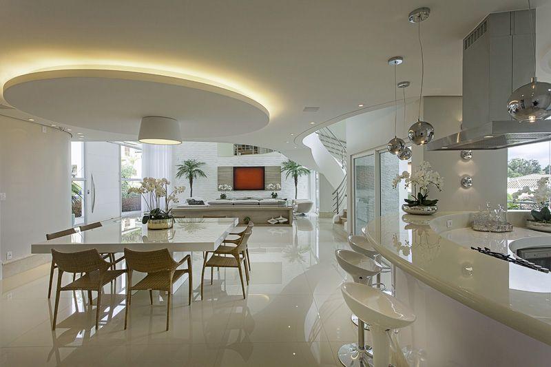Arquiteto Aquiles Nicolas Kilaris- Casa Europa - Gesso