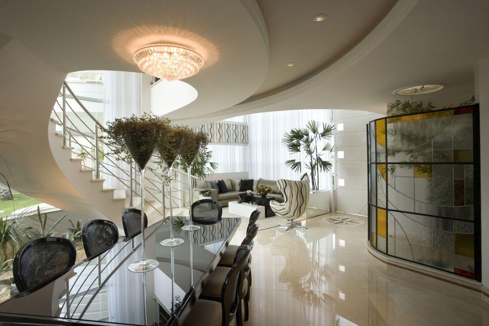 Arquiteto Aquiles Nícolas Kílaris - Casa Imperador - Living