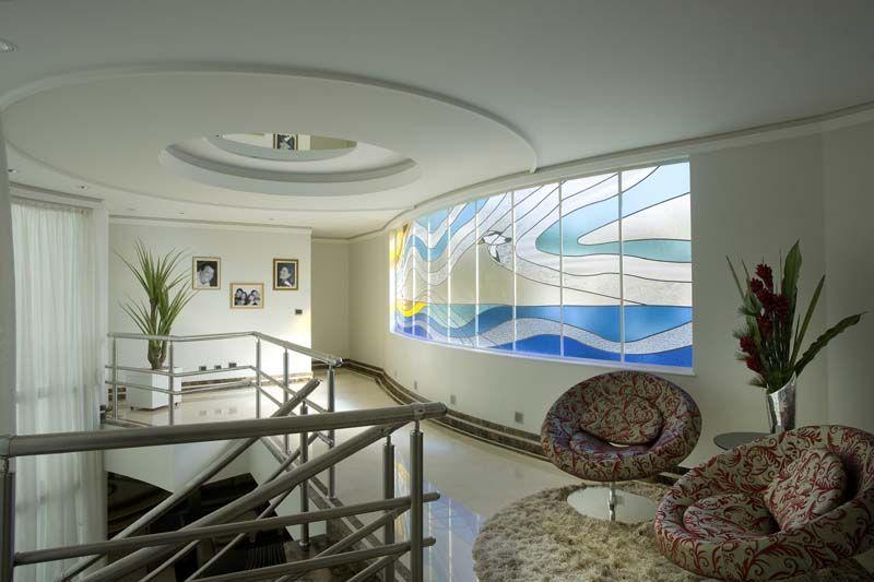 Arquiteto Aquiles Nícolas Kílaris - Casa Gobi - Vitrais