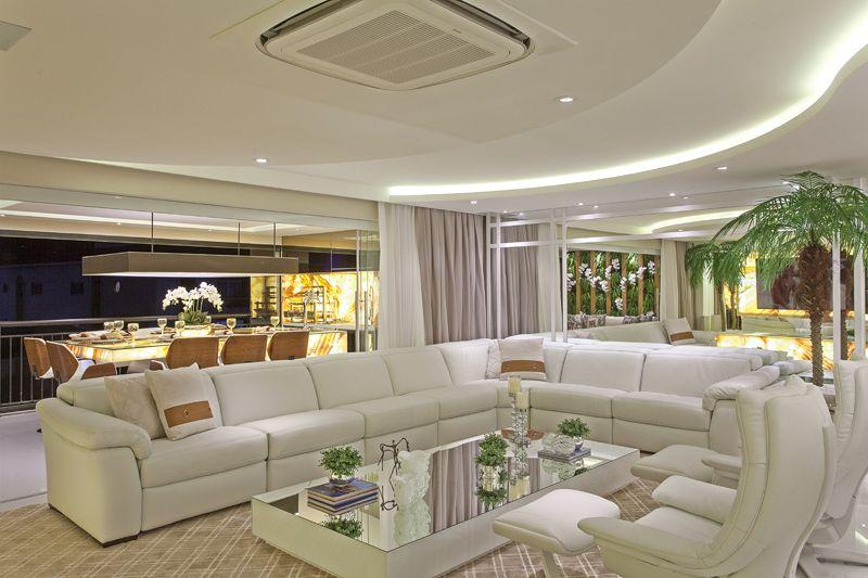 Arquiteto Aquiles Nícolas Kílaris - Apartamento Golden - living e jantar