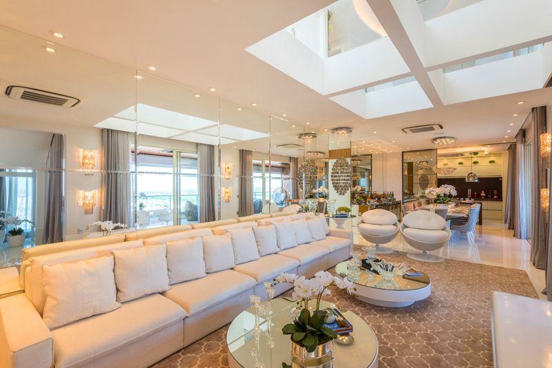 Arquiteto Aquiles Nícolas Kílaris - Apartamento Paris - living e jantar