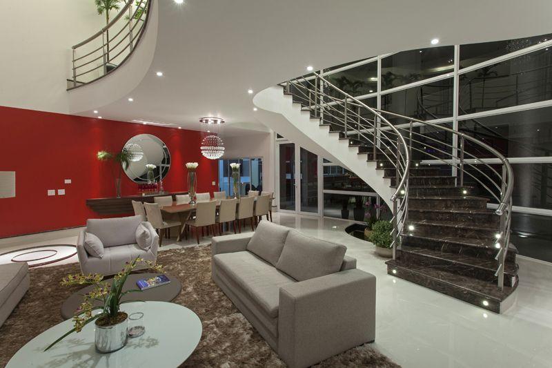 Arquiteto Aquiles Nícolas Kílaris - Casa Flora - Living