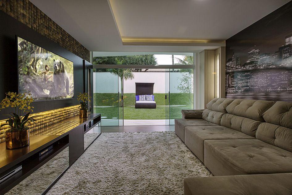 Arquiteto Aquiles Nícolas Kílaris - Casa Malibu - home theater