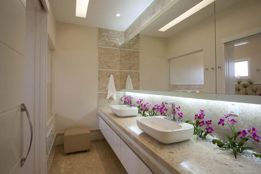 Arquiteto Aquiles Nícolas Kílaris - Casa Mercury - banho master