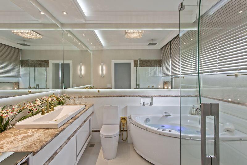 Arquiteto Aquiles Nícolas Kílaris - Casa Tripoli - banho master