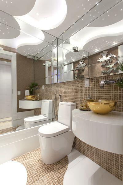 Arquiteto Aquiles Nícolas Kílaris - Apartamento Cavalli - lavabo