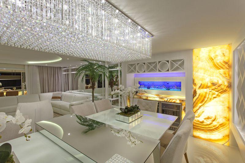 Arquiteto Aquiles Nícolas Kílaris - Apartamento Golden - jantar
