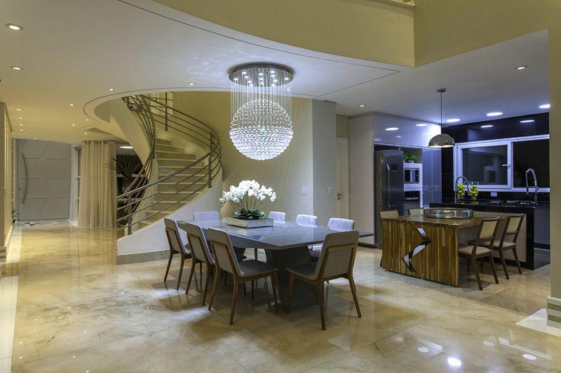Arquiteto Aquiles Nícolas Kílaris - Casa Beverly Hills - interno