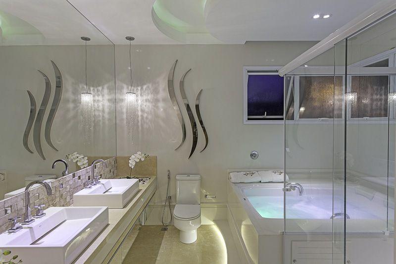 Arquiteto Aquiles Nícolas Kílaris - Casa Moinhos dos Ventos - banho master