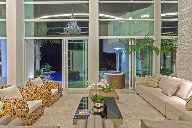 Arquiteto Aquiles Nícolas Kílaris - Casa Primavera - living