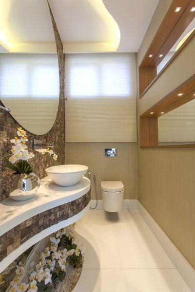 Arquiteto Aquiles Nícolas Kílaris - Casa Vanessa - lavabo