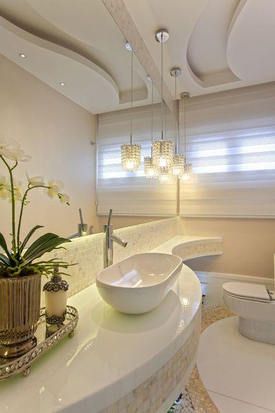 Arquiteto Aquiles Nícolas Kílaris - Casa Alphaville Piracicaba - lavabo