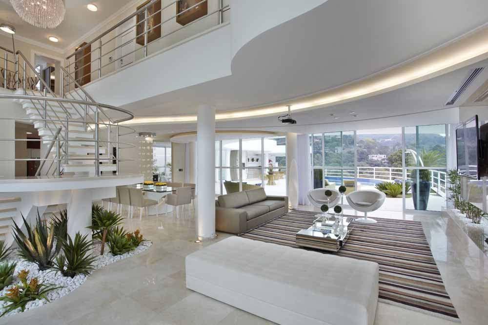 Arquiteto Aquiles Nícolas Kílaris - Casa da Serra - living