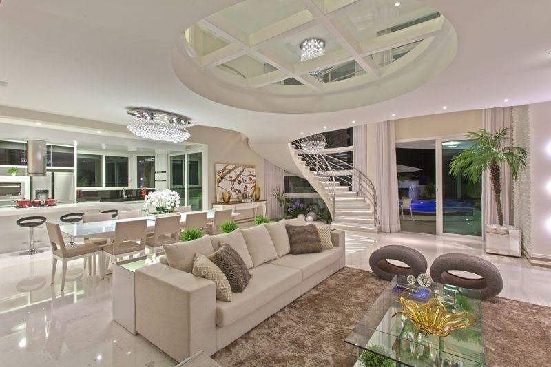 Arquiteto Aquiles Nícolas Kílaris - Casa Paraíso - Escada