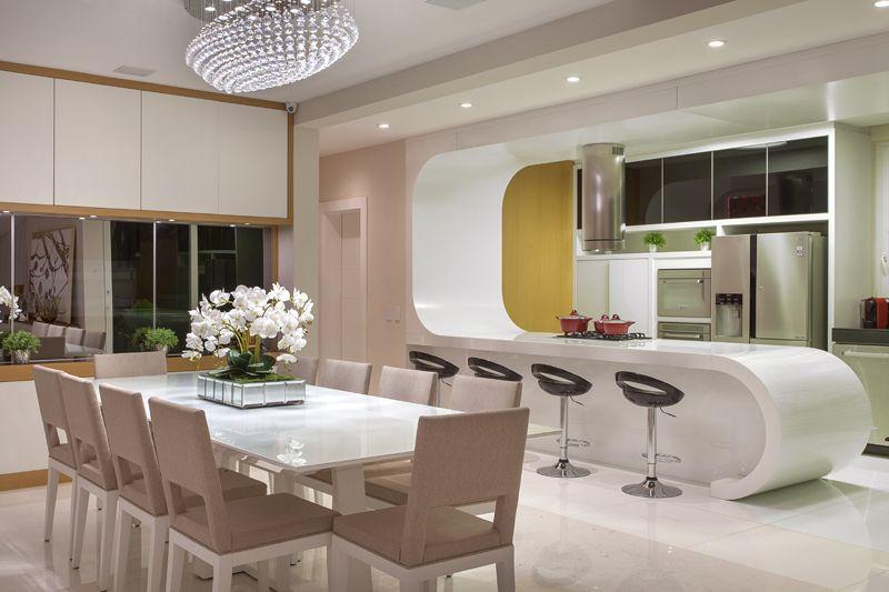 Arquiteto Aquiles Nícolas Kílaris - Casa Paraíso - jantar