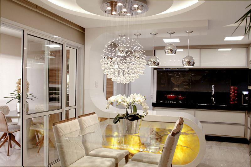 Arquiteto Aquiles Nícolas Kílaris - Apartamento Avenida Brasil - jantar e cozinha