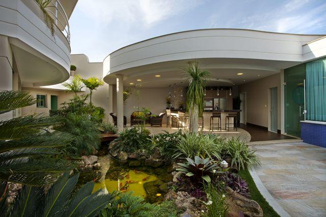 Arquiteto Aquiles Nícolas Kílaris - Casa Parque - espelho d água
