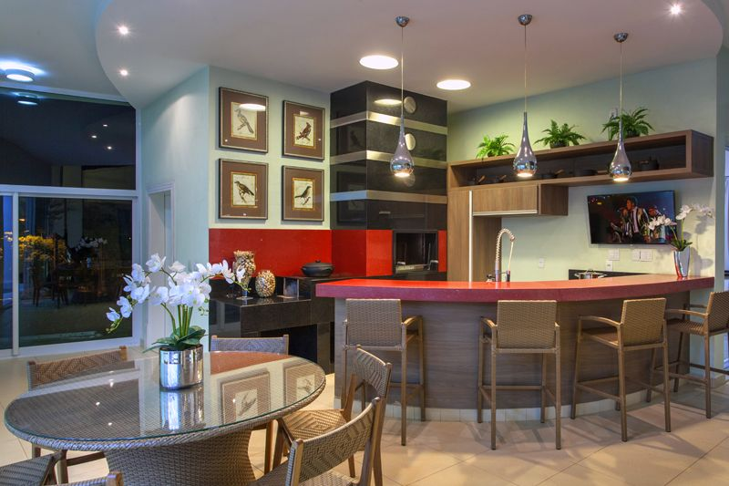Arquiteto Aquiles Nícolas Kílaris - Casa Primavera - gourmet
