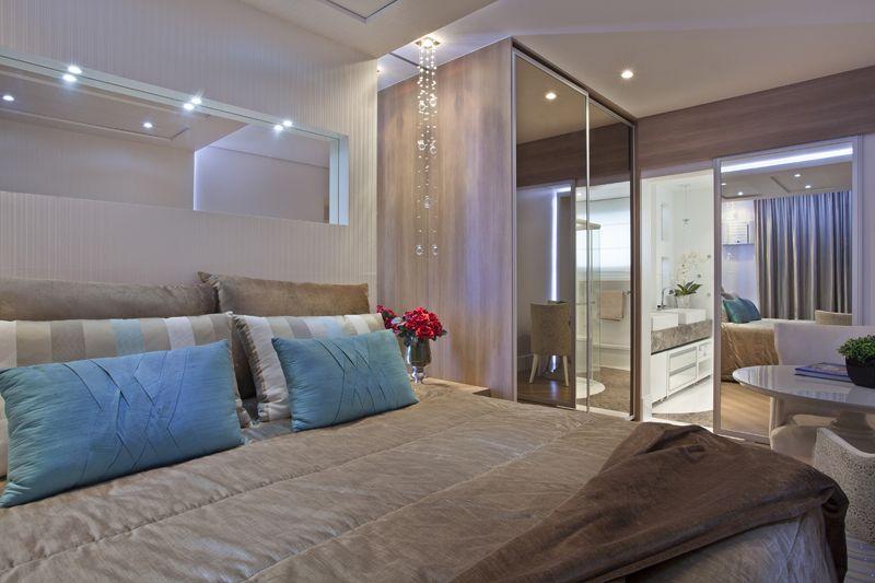 Arquiteto Aquiles Nícolas Kílaris - Apartamento Marrocos - suite