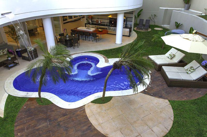Arquiteto Aquiles Nícolas Kílaris - Casa Beverly Hills - piscina