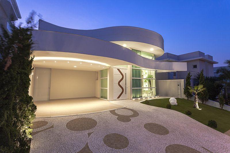 Arquiteto Aquiles Nícolas Kílaris - Casa Paulinia - Fachada