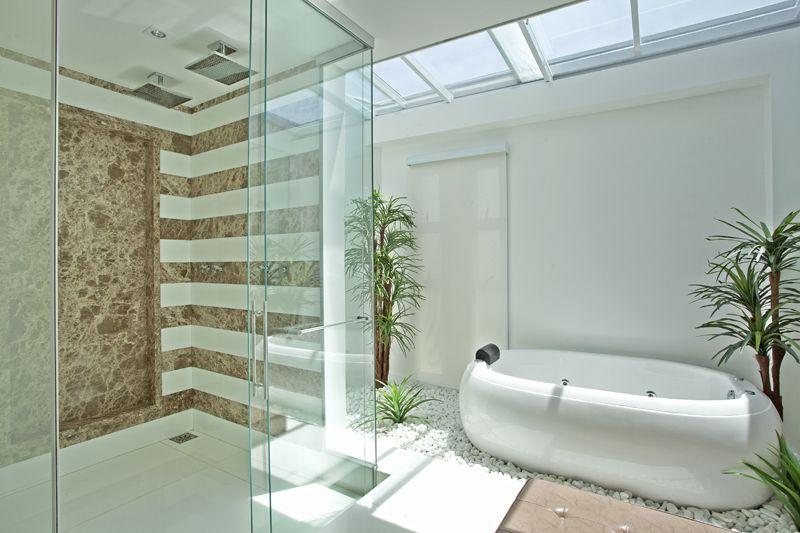 Arquiteto Aquiles Nícolas Kílaris - Casa Swiss Parque II - banho
