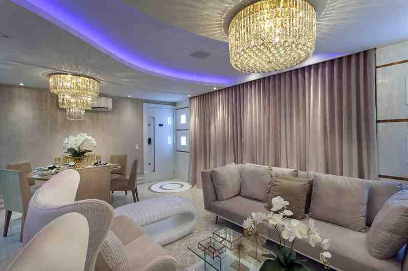 Arquiteto Aquiles Nícolas Kílaris - Apartamento Cavalli - living 2