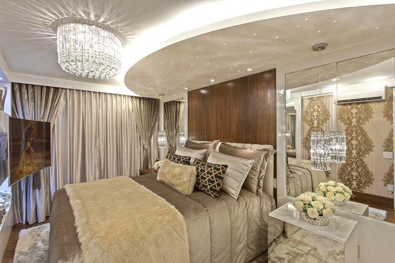 Arquiteto Aquiles Nícolas Kílaris - Apartamento Cavalli - suite