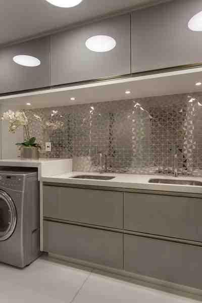 Arquiteto Aquiles Nícolas Kílaris - Apartamento Golden - lavanderia