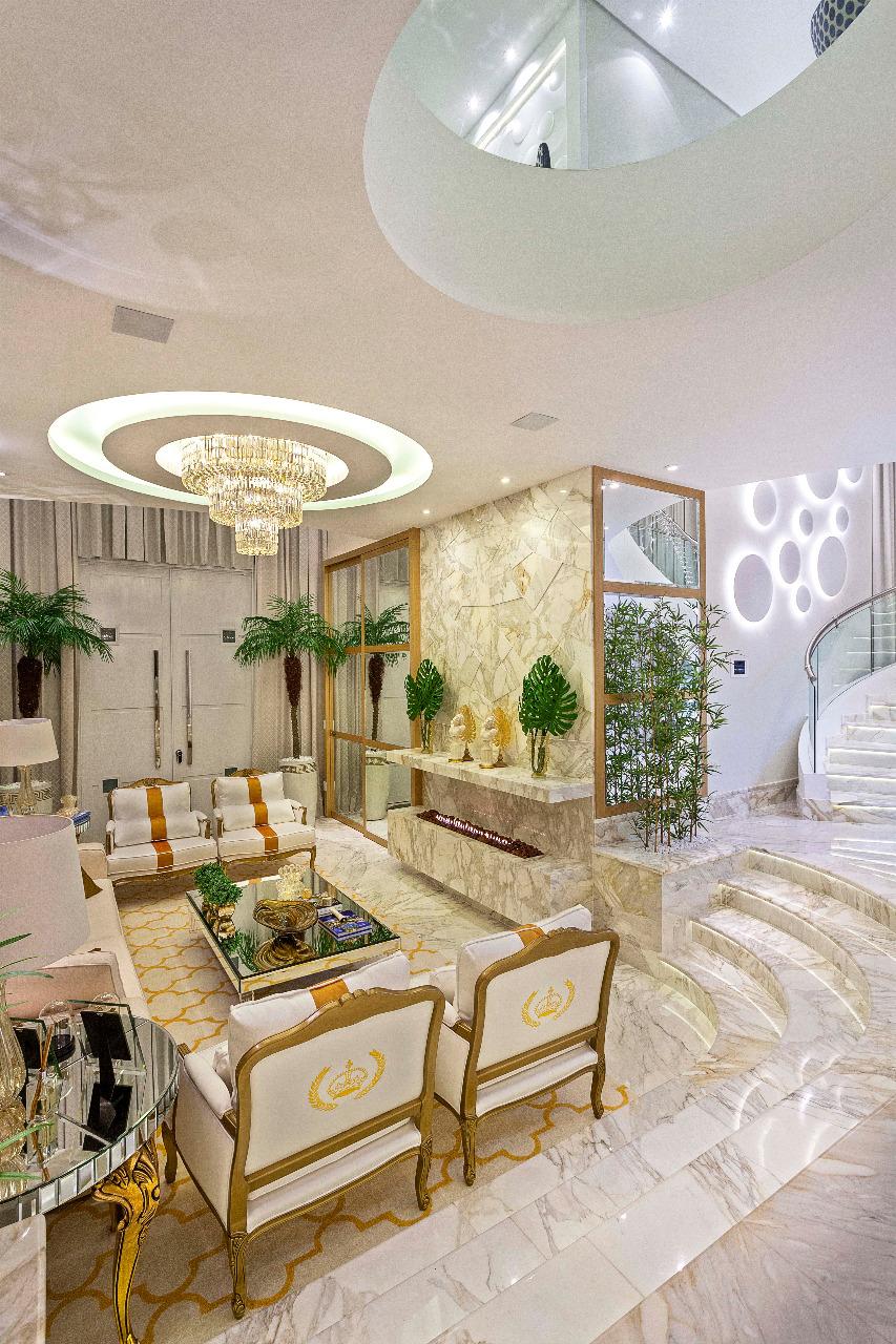 Arquiteto Aquiles Nícolas Kílaris - Casa Real - Living