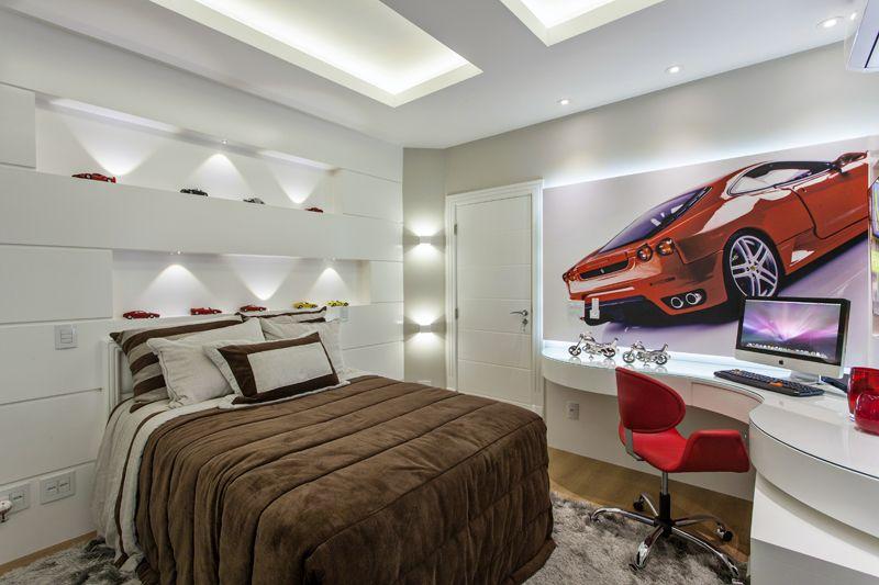 Arquiteto Aquiles Nícolas Kílars - Casa Trípoli - Quarto Ferrari