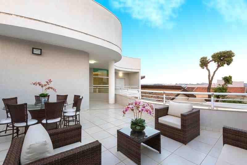 Arquiteto Aquiles Nícolas Kílaris - Casa Novo Mundo - terraço
