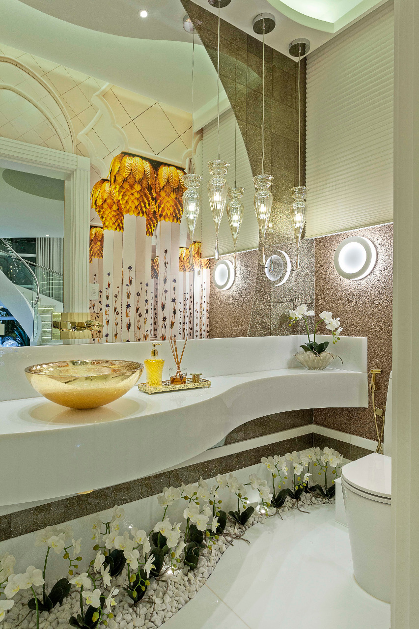 Arquiteto Aquiles Nícolas Kílaris - Casa Real - lavabo