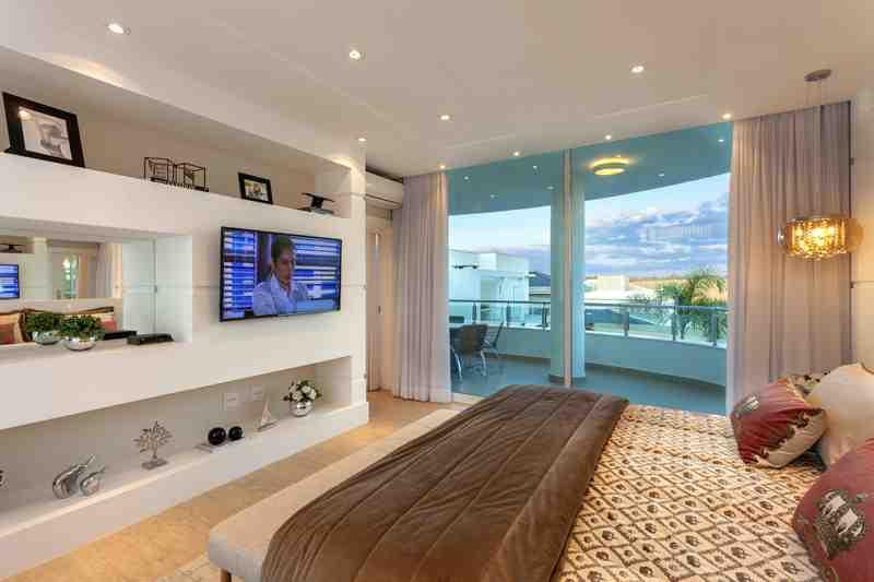 Arquiteto Aquiles Nícolas Kílaris - Casa Mont Blanc - suite master