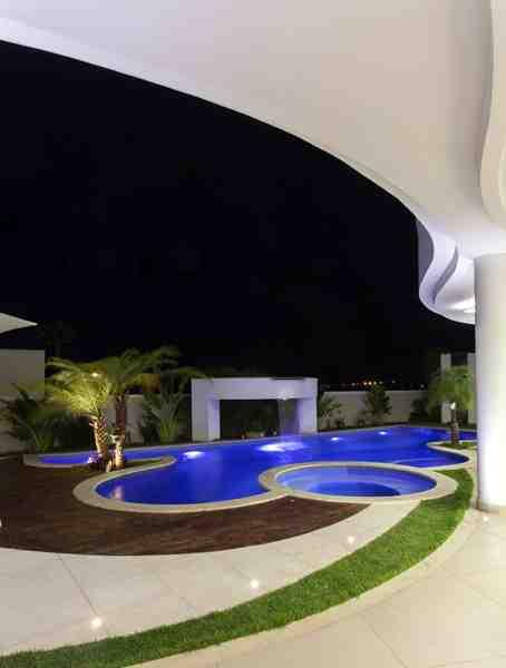 Arquiteto Aquiles Nícolas Kílaris - Casa Paraiso - Cascata 1