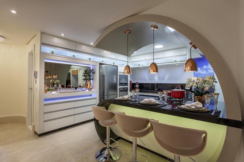 Aquiles Nícolas Kílaris - Apartamento Chanel - Cozinha