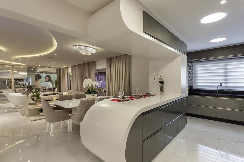 Arquiteto Aquiles Nícolas Kílaris - Apartamento Itália - integração