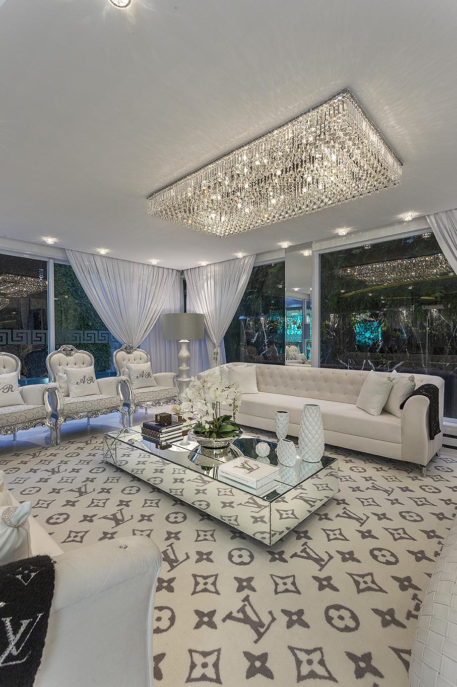 Arquiteto Aquiles Nícolas Kílaris - Casa Versace - living