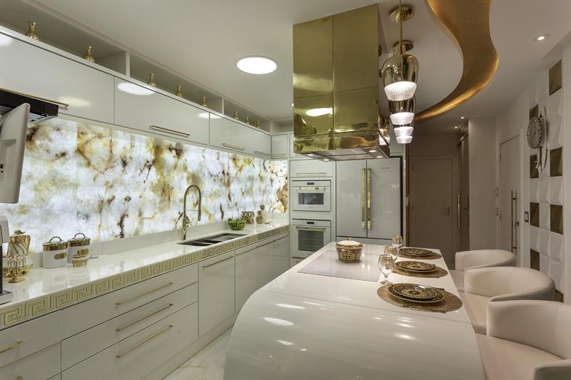 Aquiles Nícolas Kílaris - Casa Versace - cozinha