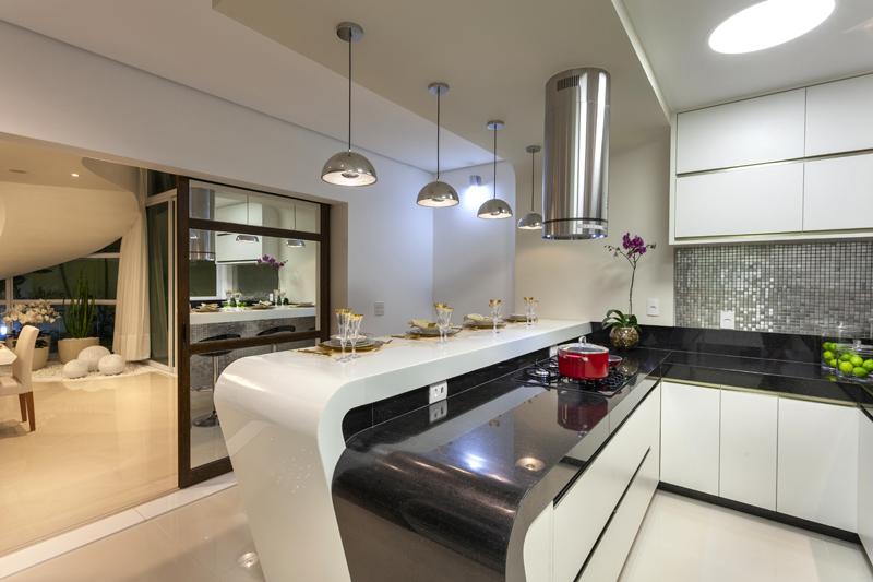 Arquiteto Aquiles Nícola Kílaris - Casa Mont Blanc - cozinha