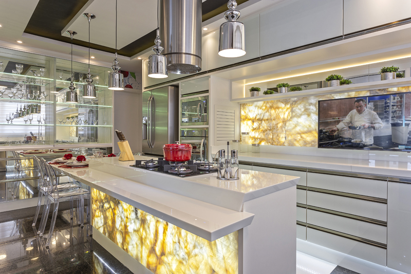Aquiles Nícola Kílaris - Apartamento Anália Franco - Cozinha