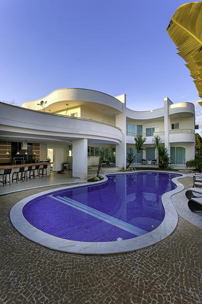 Aquiles Nícolas Kílaris - Casa Moinho dos Ventos - piscinas