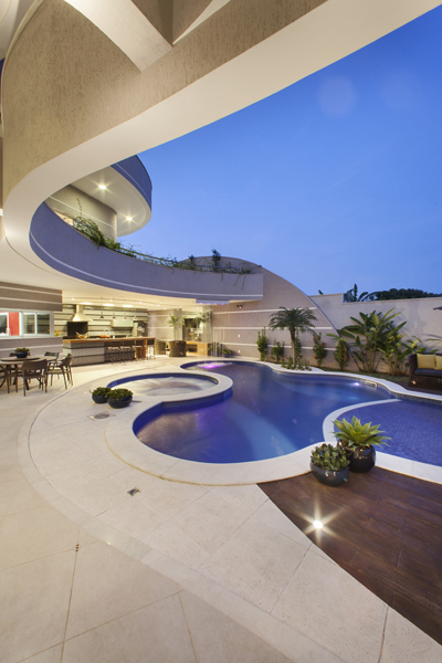 Aquiles Nícolas Kílaris - Casa Flora - piscina 2