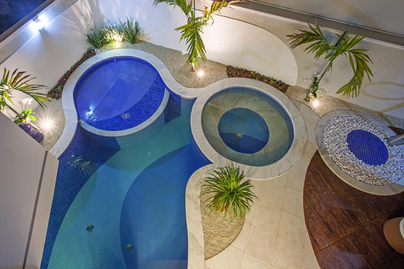 Aquiles Nícolas Kílaris - Casa Orquidea - piscina
